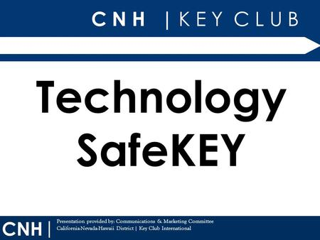 Technology SafeKEY.
