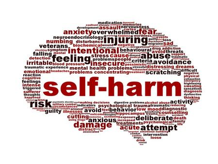 Self harm! Self Harm Brain storm with group.