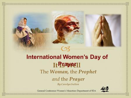 International Women's Day of Prayer