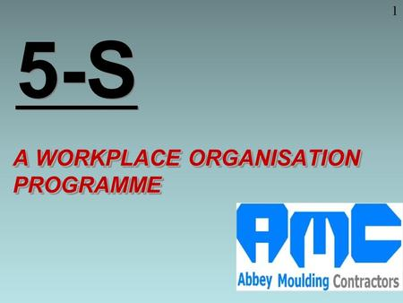 A WORKPLACE ORGANISATION PROGRAMME