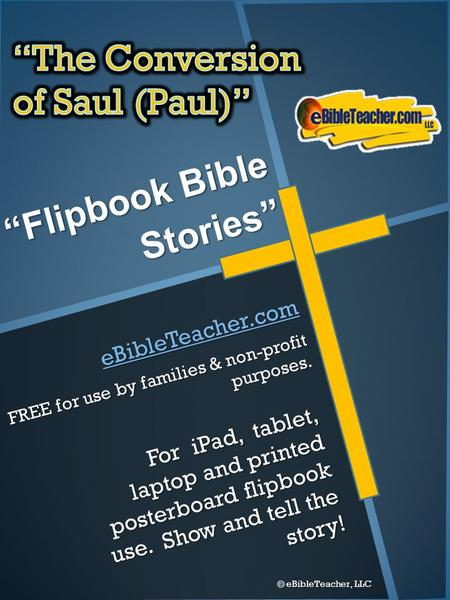 """Flipbook Bible Stories"""