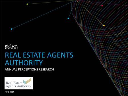 ANNUAL PERCEPTIONS RESEARCH JUNE 2014 REAL ESTATE AGENTS AUTHORITY.