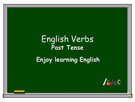 English Verbs Past Tense Enjoy learning English Table of contents PAST SIMPLE OF ENGLISH VERBS HOME VOCABULARY.