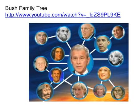 Bush Family Tree