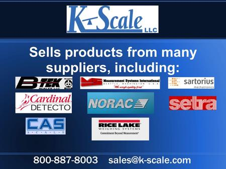 Sells products from many suppliers, including: 800-887-8003