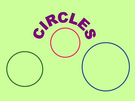 The standard form of the equation of a circle with its center at the origin is Notice that both the x and y terms are squared. When we looked at parabolas,