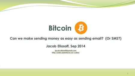 1. Example: donating $5 worth of bitcoin to Wikipedia 2 worth about…