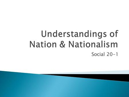 to what extent nationalism can be Get an answer for 'to what extent should we embrace the perspective of nationalism' and find homework help for other social sciences questions at enotes.