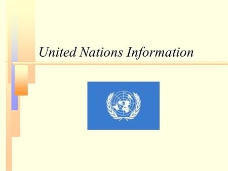 United Nations Information. General Assembly committees.