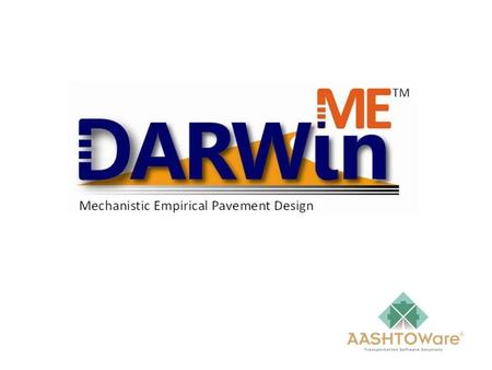Licensing Because DARWin-ME will not be available for licensing until April 2011, the annual license fees will be prorated for the period April through.