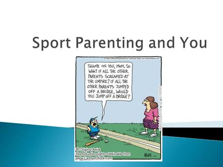  Text chriswarner270 to 22333  What do YOU do to be a good sport parent?