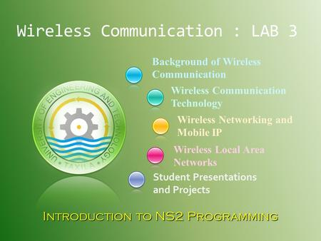 Wireless Communication : LAB 3