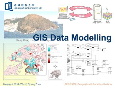 Copyright, 1998-2014 © Qiming Zhou GEOG3600. Geographical Information Systems GIS Data Modelling.