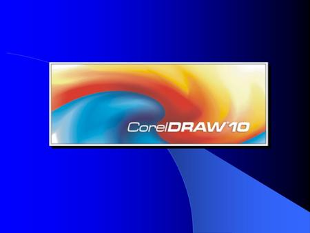 Corel 10 Software Package & Introduction in CorelDRAW 10 by: Pavlovic Nenad