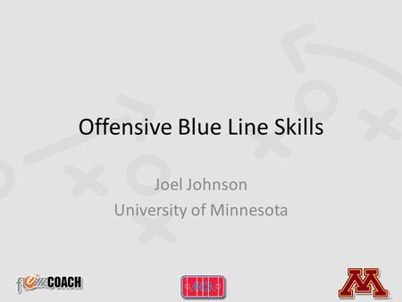 Offensive Blue Line Skills