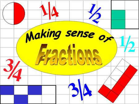 Making sense of Fractions.