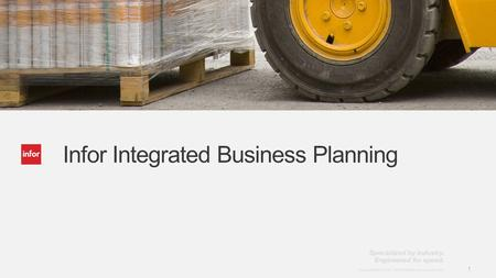 Infor Integrated Business Planning