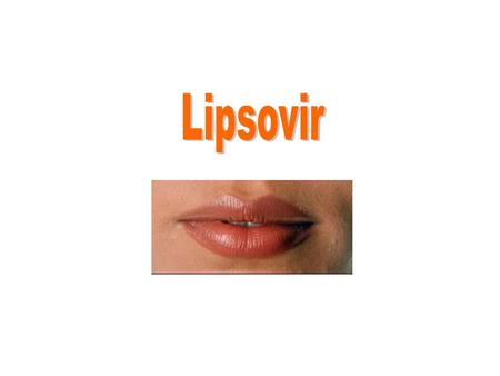 Medivir develops a new unique treatment Avoid your next cold sore Lipsovir cream can prevent the development of a cold sore No other drug treatment has.