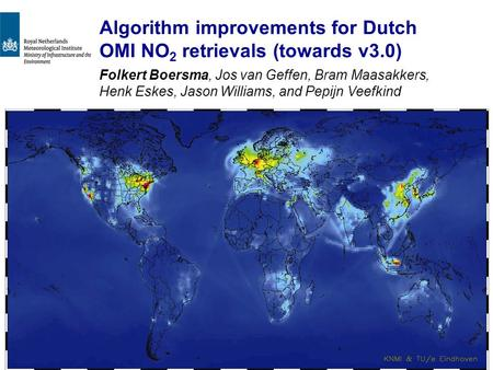 Algorithm improvements for Dutch OMI NO2 retrievals (towards v3.0)