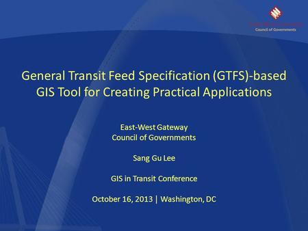 General Transit Feed Specification (GTFS)-based
