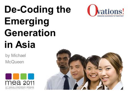 De-Coding the Emerging Generation in Asia by Michael McQueen.