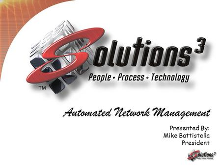 Automated Network Management