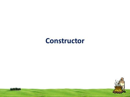 Constructor. 2 constructor The main use of constructors is to initialize objects. A constructor is a special member function, whose name is same as class.