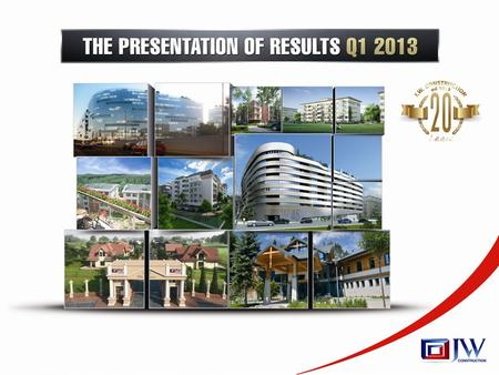 Meeting agenda 2 Contents The most significant events in Q1 20133 Factors influencing the Company's activity in Q1 20136 Sales of flats in Q1 20137 Selected.