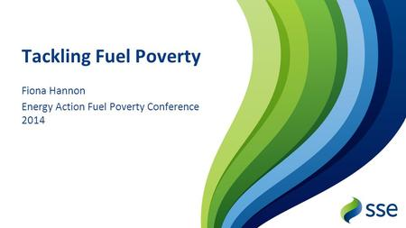 Fiona Hannon Energy Action Fuel Poverty Conference 2014
