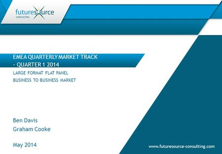 EMEA QUARTERLY MARKET TRACK – QUARTER