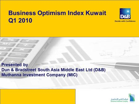 Business Optimism Index Kuwait Q1 2010