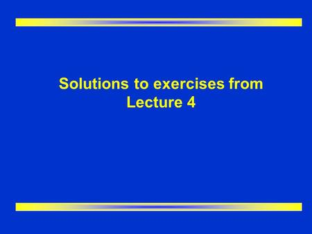 Solutions to exercises from Lecture 4. ER Modeling I handout - Q1 DIVISION (DivisionID,…ManagerID) DEPARTMENT (DeptID,…DivisionID) EMPLOYEE (EmpID, …DeptID)