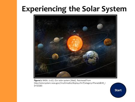 Experiencing the Solar System