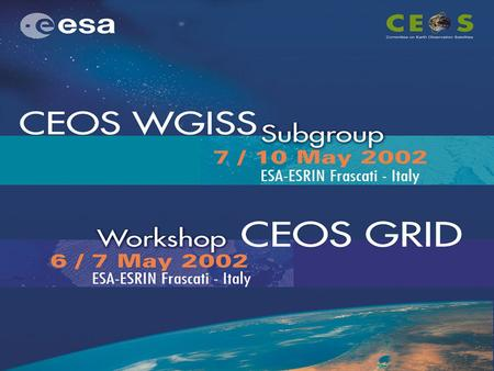 Some info … Frascati & ESRIN How to find your way within ESRIN Network Some other info Schedule Social events.