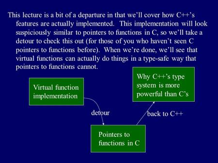 how to pass in a class type in c++