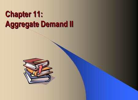 Chapter 11: Aggregate Demand II. Fiscal Policy Initial equilibrium: IS 1 = LM 1 with Y 1 and r 1 Let G increase and/or T decrease IS increases, resulting.
