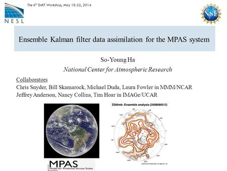 Ensemble Kalman filter data assimilation for the MPAS system