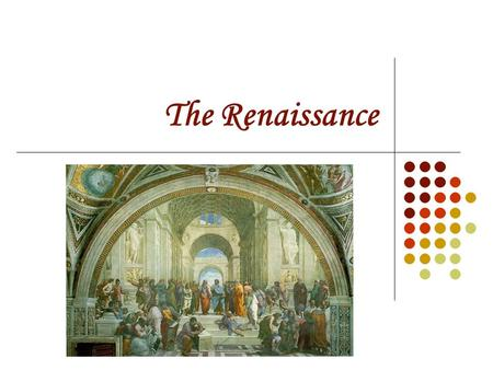 The Renaissance. Questions Causes 1. Explain why the Renaissance began in Italy. Politics 2. Identify and define the types of government in Renaissance.