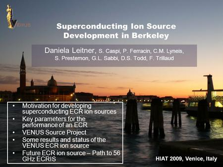 Superconducting Ion Source Development in Berkeley