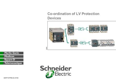 Co-ordination of LV Protection Devices