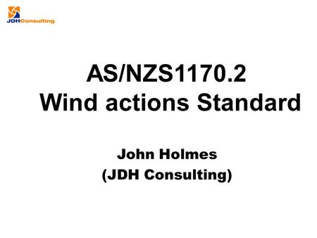 AS/NZS Wind actions Standard