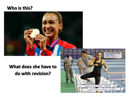 What does she have to do with revision?
