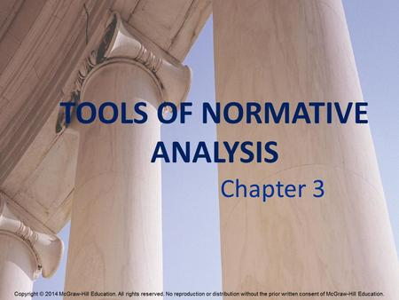 TOOLS OF NORMATIVE ANALYSIS