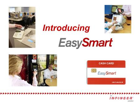 Introducing. Introducing… EasySmart A great 'first experience' with smartcards for sites that don`t want to pay for a full-blown, multi-application, card.