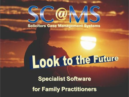Specialist Software for Family Practitioners. 20 frequently-asked questions Specialist Software for Family Practitioners about our family software family.