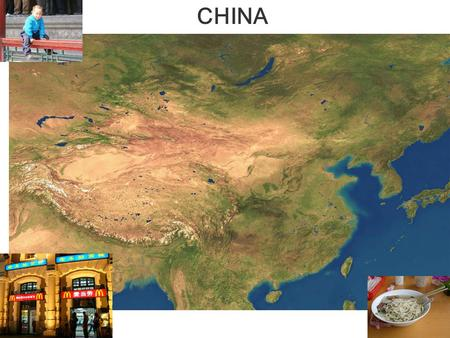 CHINA. Fig. 10-5a, p. 278 ARID CHINA  Sparse Population Wet China  Heavily Populated.