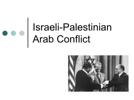 Israeli-Palestinian Arab Conflict. Middle East after World War II Middle Eastern nations achieved independence The superpowers tried to secure allies.