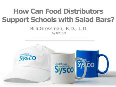 How Can Food Distributors Support Schools with Salad Bars?