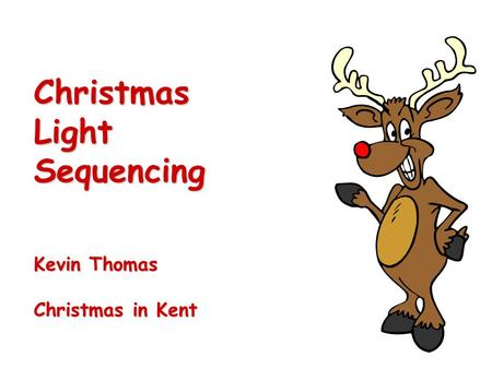 Christmas Light Sequencing Kevin Thomas Christmas in Kent.