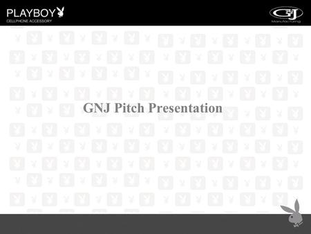 GNJ Pitch Presentation. THE MISSION To create the highest quality product at a reasonable price and always be on the cutting edge of our industry, while.